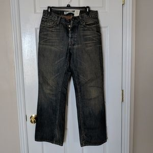 Men's Gap bootcut low-rise jeans